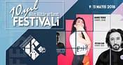 HKÜFEST 10. yıl bilim, kültür ve sanat festivali başlıyor