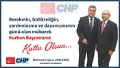CHP Şehitkamil Kurban Bayramı Kutlama