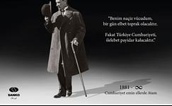 Sanko 10 Kasım Reklamı