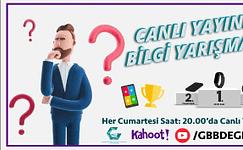 GBB'den ödüllü online bilgi yarışması