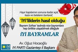 İYİ Parti Kurban Bayramı Kutlama