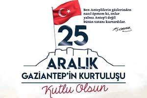 Büyükşehir Belediyesi 25 Aralık Kutlama