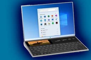 Windows 10X internete sızdı