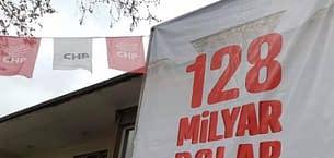 CHP'nin pankartları söküldü