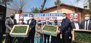 ŞAHİNBEY'İN MEYVE VE SEBZE FİDE DESTEĞİ SÜRÜYOR