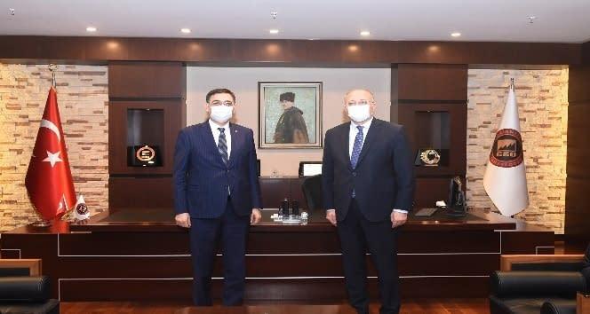 Milletvekili Nejat Koçer'den GSO'ya ziyaret