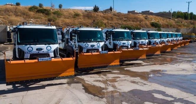 Şahinbey'de karla mücadele 137 kişilik ekip ile yürütülecek