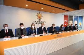 AK Parti 'de Görev Verimi Yapıldı